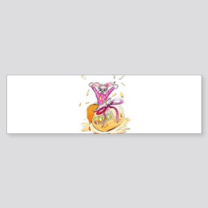 HoneyBunny Honey Bunny Bumper Sticker
