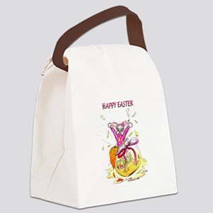 Honey Bunny Happy Easter Canvas Lunch Bag