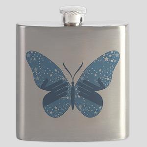 Butterfly Stars w/ Hands Flask