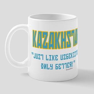 Kazakhstan Is Better! Mug