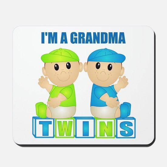 I'm A Grandma (PBB:blk) Mousepad