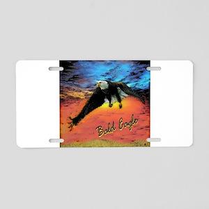 BALD EAGLE Aluminum License Plate