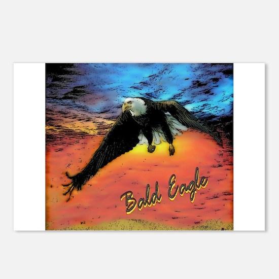 BALD EAGLE Postcards (Package of 8)