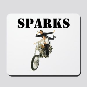 Sparks Motorbike Mousepad