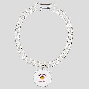 Latvian baby designs Charm Bracelet, One Charm