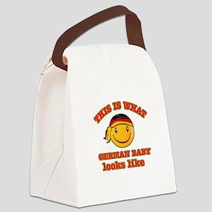 German baby designs Canvas Lunch Bag