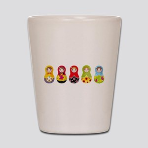 Matrioshka Shot Glass