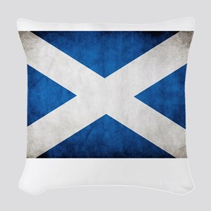 Scotland Woven Throw Pillow