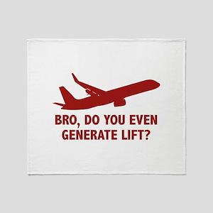 Bro, Do You Even Generate Lift? Stadium Blanket