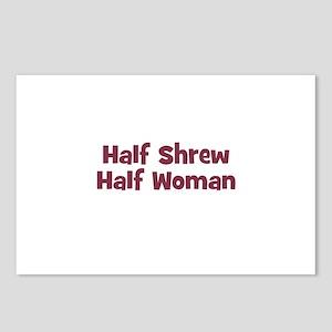Half SHREW Half Woman Postcards (Package of 8)