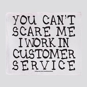 CUSTOMER SERVICE Throw Blanket