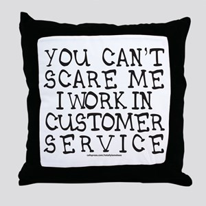 CUSTOMER SERVICE Throw Pillow