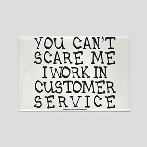 CUSTOMER SERVICE Rectangle Magnet