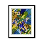 The City I Abstract Framed Panel Print