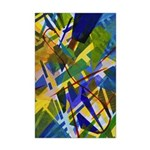 The City I Abstract Mini Poster Print