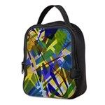 The City I Abstract Neoprene Lunch Bag