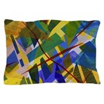 The City I Abstract Pillow Case