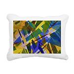 The City I Abstract Rectangular Canvas Pillow