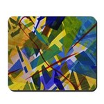 The City I Abstract Mousepad