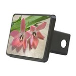 Pink Tulips In Bloom Hitch Cover