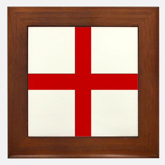 Knights Templar Cross Framed Tile