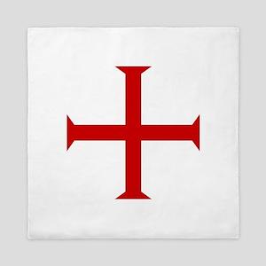 Knights Templar Cross Queen Duvet