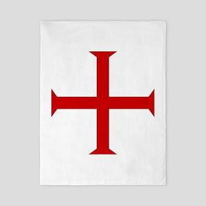 Knights Templar Cross Twin Duvet