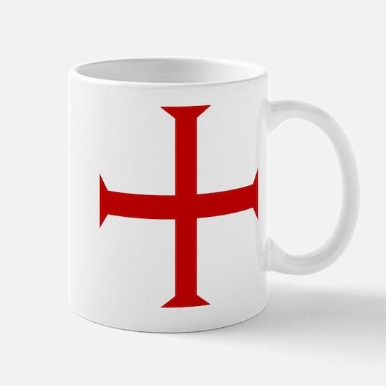 Knights Templar Cross Mug