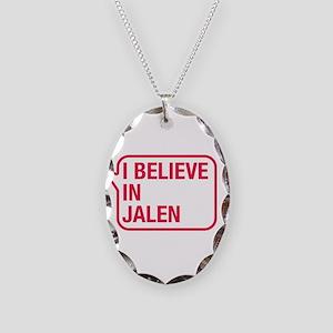 I Believe In Jalen Necklace