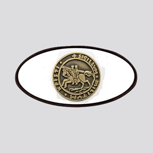 Knights Templar Seal Patches