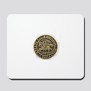 Knights Templar Seal Mousepad
