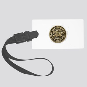 Knights Templar Seal Luggage Tag