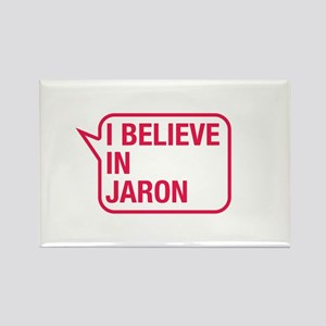 I Believe In Jaron Rectangle Magnet