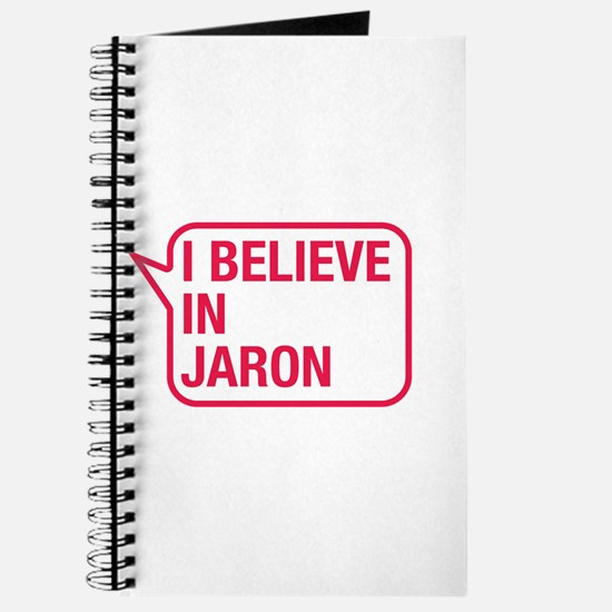 I Believe In Jaron Journal
