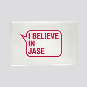 I Believe In Jase Rectangle Magnet