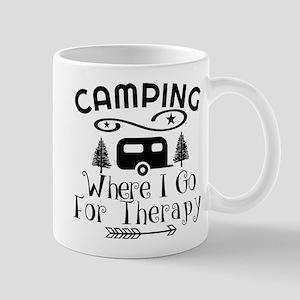 Camping Therapy Mugs