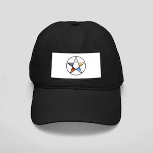 Elemental Pentagram Black Cap