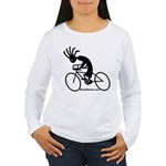 Kokopelli Road Cyclist Women's Long Sleeve T-Shirt