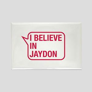 I Believe In Jaydon Rectangle Magnet