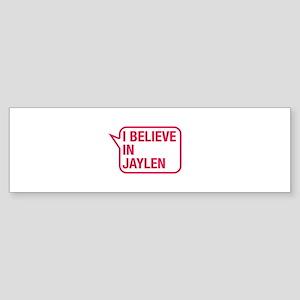 I Believe In Jaylen Bumper Sticker