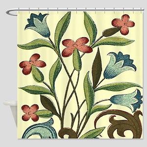 Vintage Flower Bluebell Floral Decoration Shower C