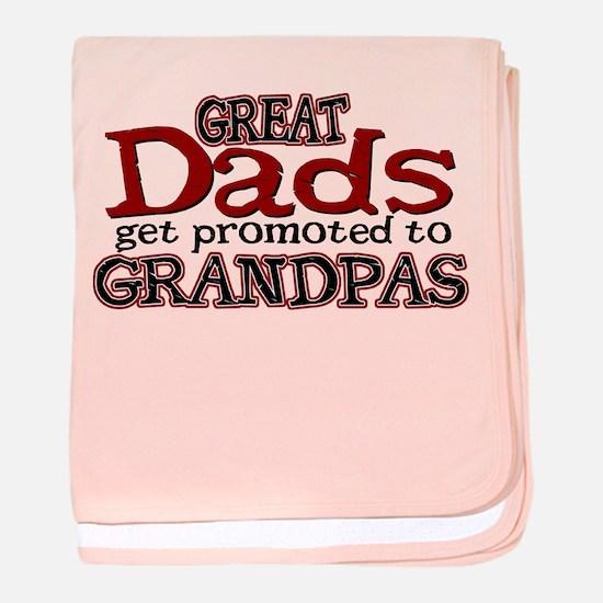 Grandpa Promotion baby blanket