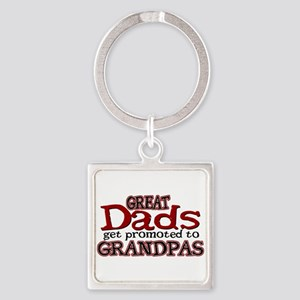 Grandpa Promotion Square Keychain