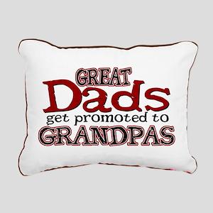 Grandpa Promotion Rectangular Canvas Pillow