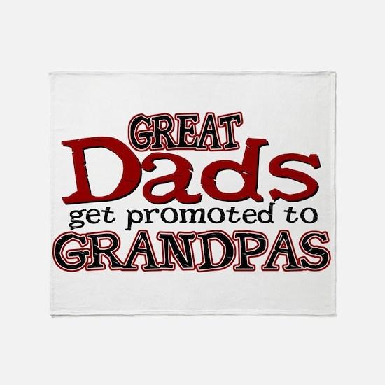Grandpa Promotion Throw Blanket
