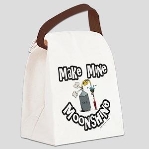 Make Mine Moonshine Canvas Lunch Bag