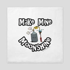 Make Mine Moonshine Queen Duvet
