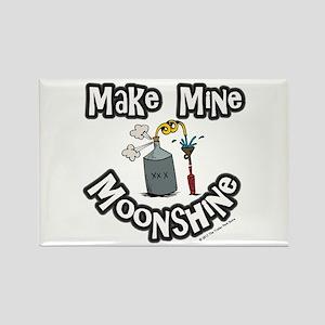 Make Mine Moonshine Rectangle Magnet