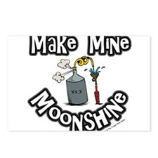 Make Mine Moonshine Postcards (Package of 8)