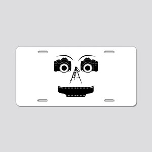 PHOTOGRAPHER FACE Aluminum License Plate